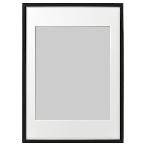 RIBBA frame black 50 cm 70 cm 40 cm 50 cm 39 cm 49 cm 52 cm 72 cm