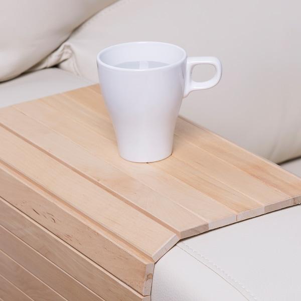 RÖDEBY armrest tray birch 65 cm 37 cm