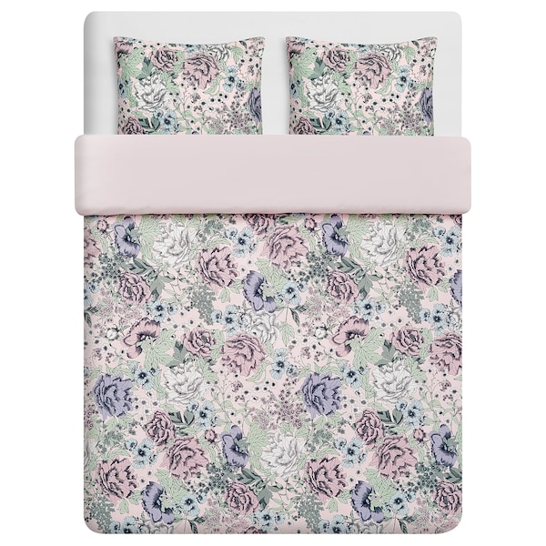 RUNDSTARR quilt cover and 2 pillowcases 152 /inch² 2 pack 220 cm 240 cm 50 cm 80 cm