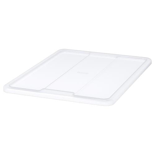 SAMLA lid for box 45/65 l transparent 57 cm 39 cm