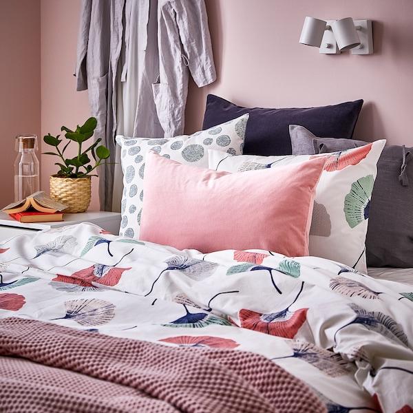 SANELA Cushion cover, light pink, 40x65 cm
