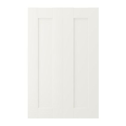 SÄVEDAL 2-p Door F Corner Base Cabinet Set