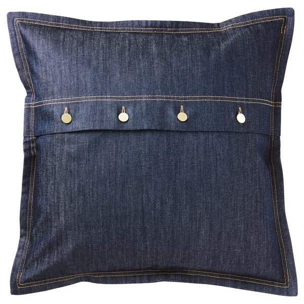 SISSIL cushion cover blue 50 cm 50 cm