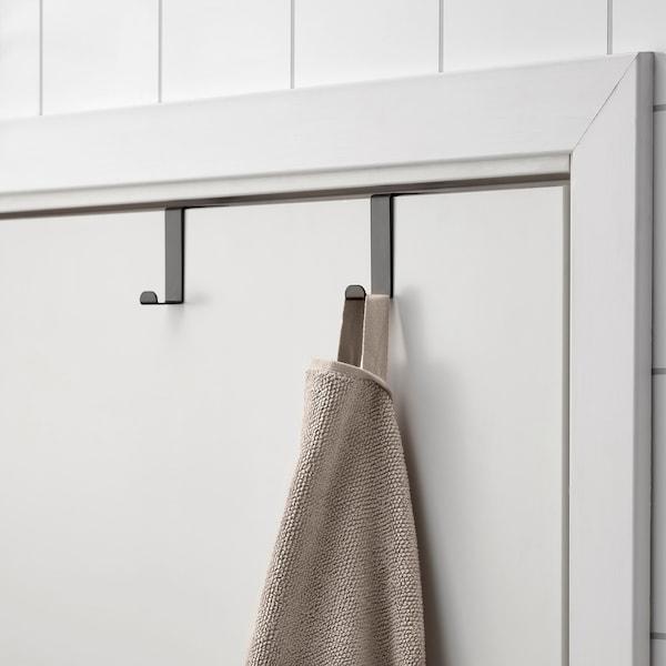 SKOGSVIKEN Hook for door, black