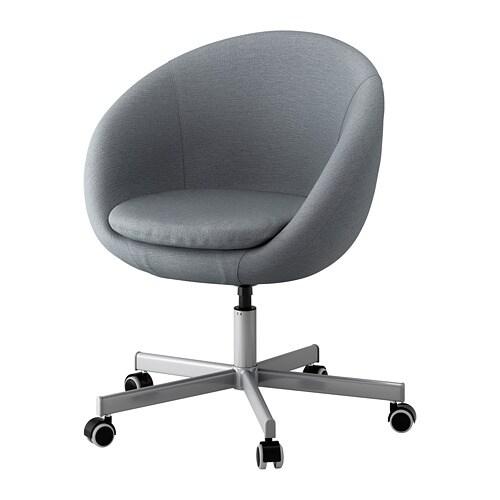 Skruvsta Swivel Chair Vissle Grey Ikea