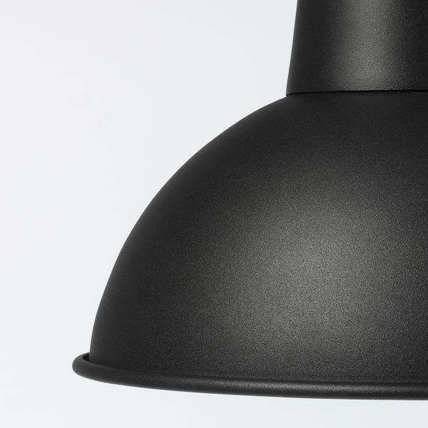 SKURUP Pendant lamp, black, 19 cm