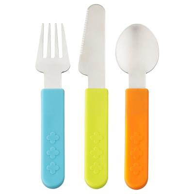 SMASKA طقم أدوات تناول الطعام من 3 قطع.