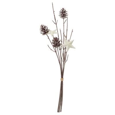 SMYCKA Artificial bouquet, in/outdoor star, 40 cm