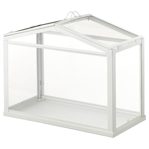 SOCKER greenhouse white 45 cm 22 cm 35 cm