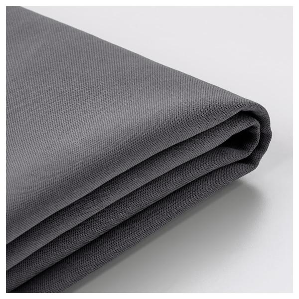 SÖDERHAMN Cover for 3-seat section, Samsta dark grey