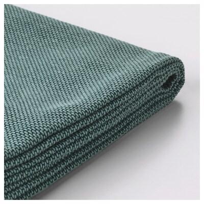 SÖDERHAMN Cover for armrest, Finnsta turquoise