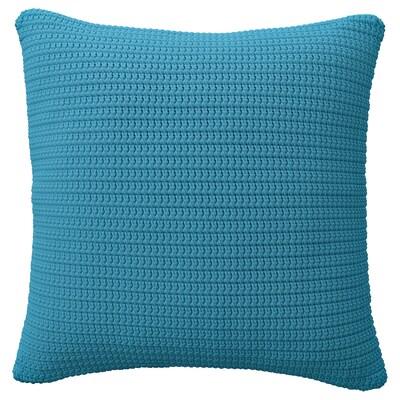 SÖTHOLMEN غطاء وسادة، داخلي/خارجي, أزرق فاتح, 50x50 سم