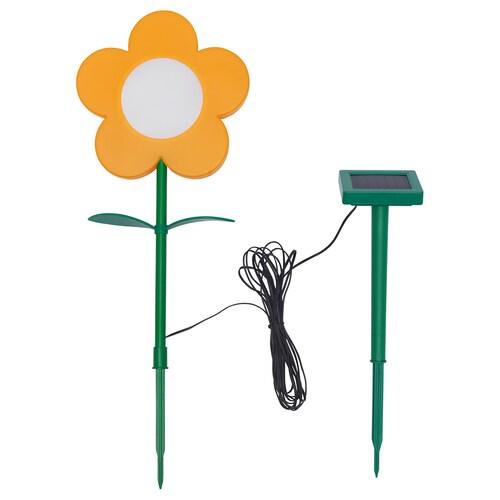 SOLVINDEN LED solar-powered ground stick outdoor/flower yellow 3 m 20 cm 51 cm 38 cm