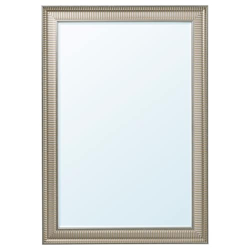 SONGE mirror silver-colour 91 cm 130 cm