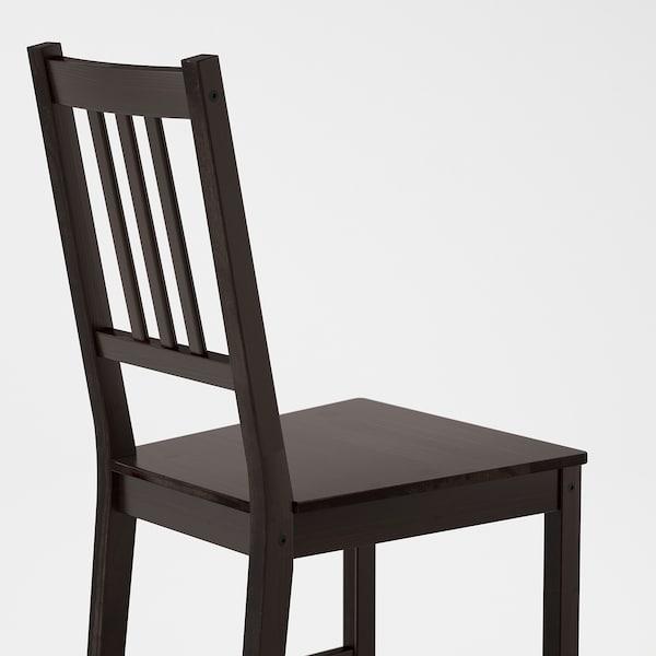 STEFAN كرسي, بني-أسود