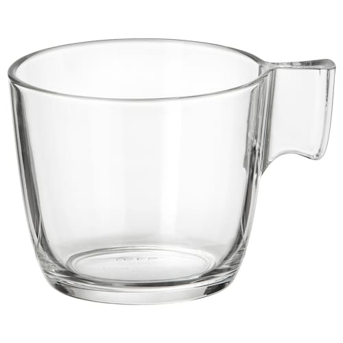STELNA mug clear glass 7 cm 23 cl