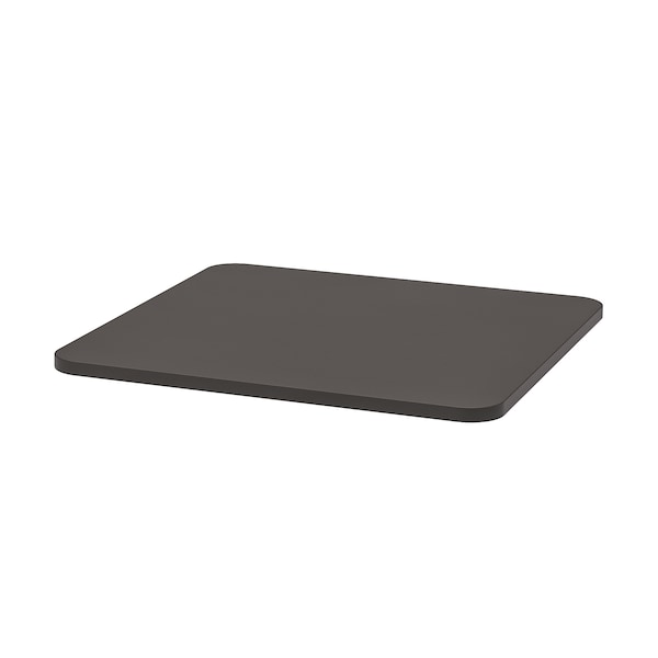 STENSELE Table top, anthracite, 70x70 cm