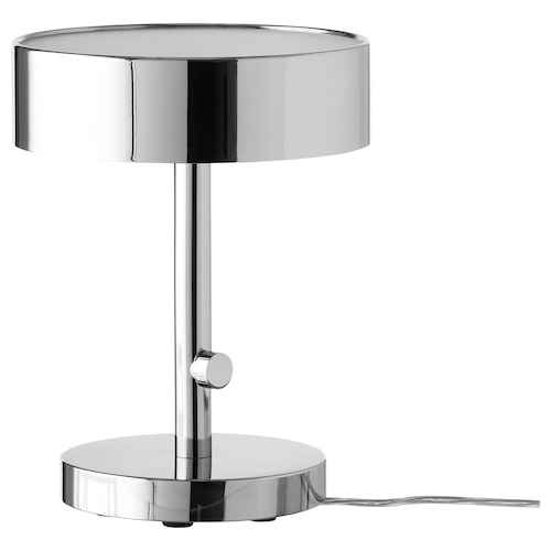 STOCKHOLM 2017 table lamp chrome-plated 13 W 32 cm 24 cm 18 cm 2.0 m