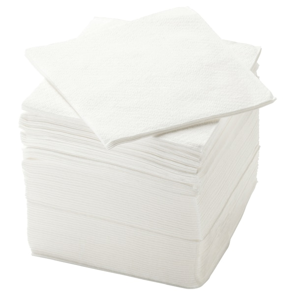 STORÄTARE مناديل ورقية, أبيض, 30x30 سم
