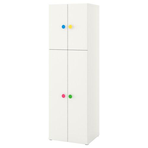 STUVA / FÖLJA wardrobe with 4 doors white 60 cm 50 cm 192 cm