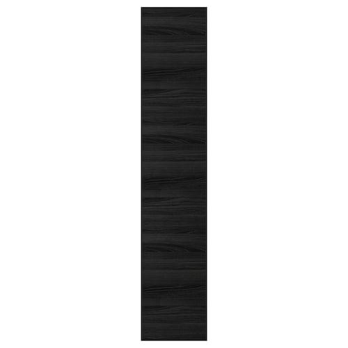 TINGSRYD door wood effect black 39.7 cm 200.0 cm 40.0 cm 199.7 cm 1.6 cm