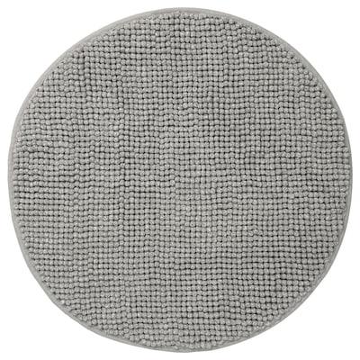 TOFTBO Bath mat, grey-white mélange, 55 cm