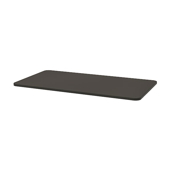 TOMMARYD Table top, anthracite, 130x70 cm