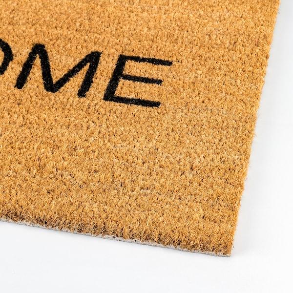 TRIABO door mat natural 70 cm 40 cm 0.28 m²
