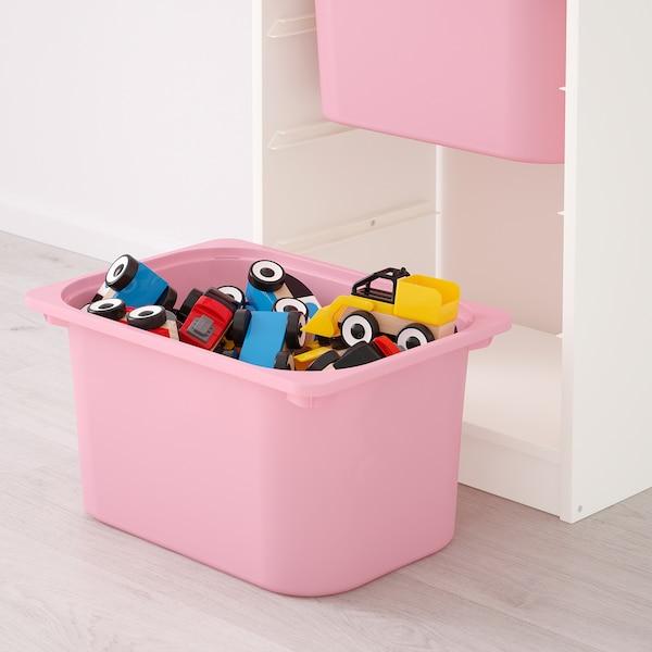 TROFAST storage combination white/pink 46 cm 30 cm 94 cm