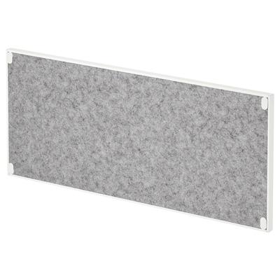 TROTTEN Noticeboard, white, 76x33 cm