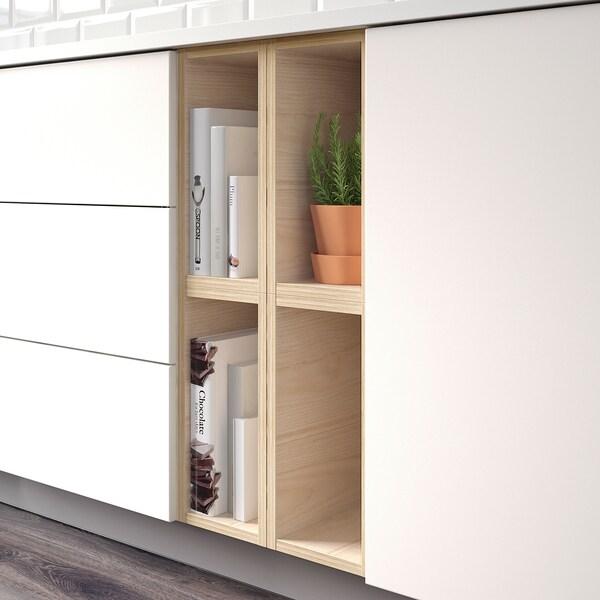 TUTEMO Open cabinet, ash, 20x37x40 cm