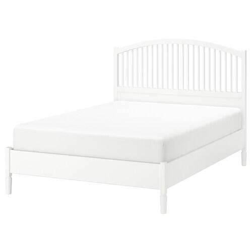 TYSSEDAL bed frame white 210 cm 147 cm 44 cm 140 cm 20 cm 200 cm 140 cm