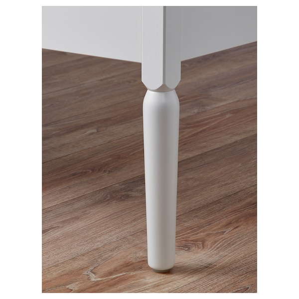 TYSSEDAL storage bench white 110 cm 42 cm 42 cm