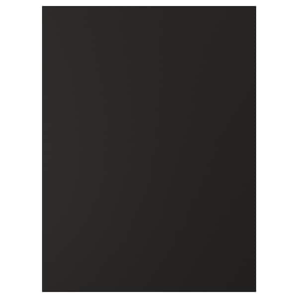 UDDEVALLA باب مع سطح لوحي أسود, فحمي, 60x80 سم
