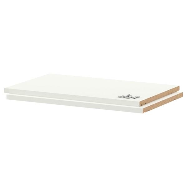 UTRUSTA shelf white 56.4 cm 60 cm 35.0 cm 37 cm 1.8 cm 20 kg 2 pack