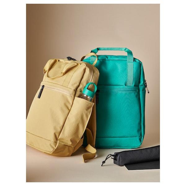 VÄRLDENS Accessory bag, dark grey/small, 21x4x4 cm