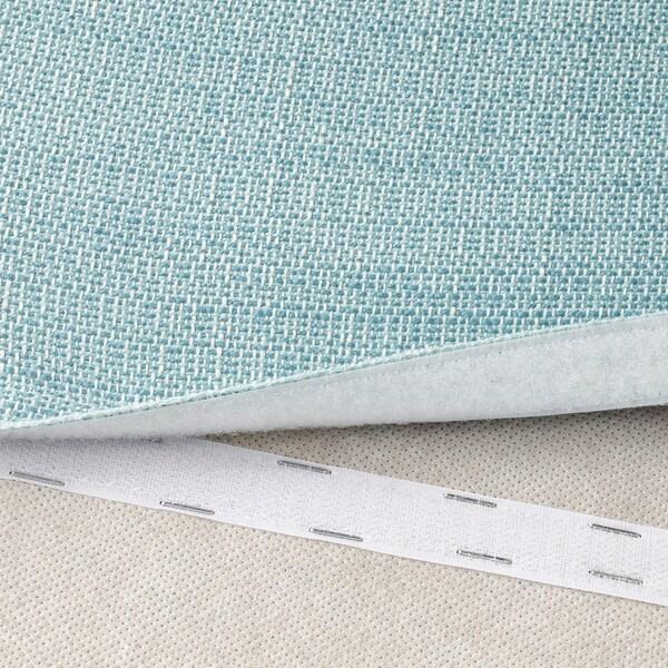VALLENTUNA Cover for backrest, Hillared light blue, 80x80 cm