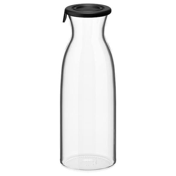 VARDAGEN ابريق بغطاء, زجاج شفاف, 0.5 ل