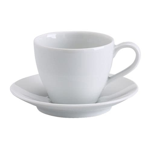 VÄrdera Coffee Cup And Saucer