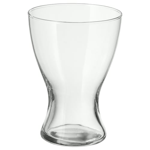 VASEN vase clear glass 20 cm
