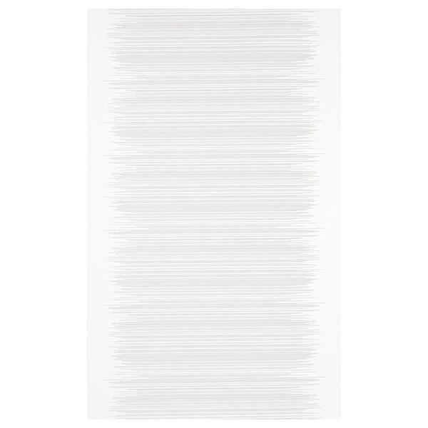 VATTENAX Panel curtain, white/white, 60x300 cm