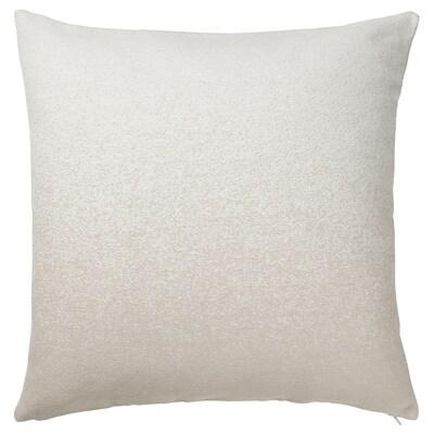 VIDESPINNARE غطاء وسادة, بيج, 50x50 سم