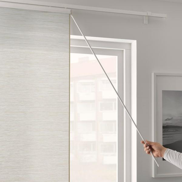 VIDGA Draw rod, white, 110 cm