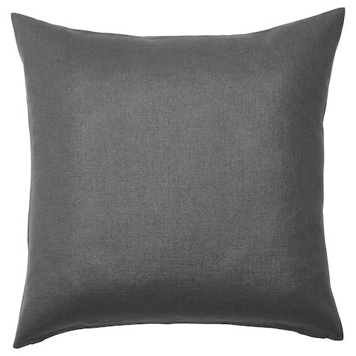 VIGDIS cushion cover black-grey 50 cm 50 cm
