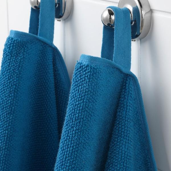 VIKFJÄRD Hand towel, blue, 40x70 cm