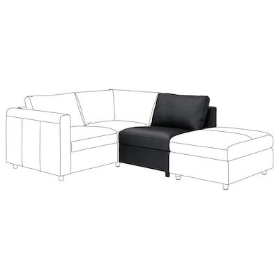 VIMLE 1-seat section, Grann/Bomstad black