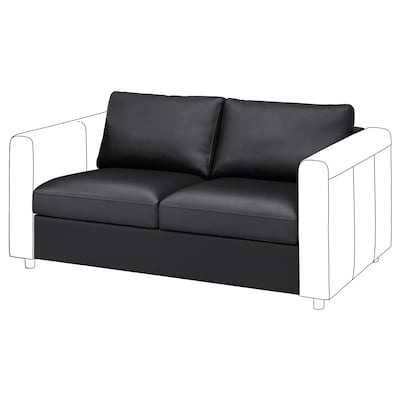 VIMLE 2-seat section, Grann/Bomstad black
