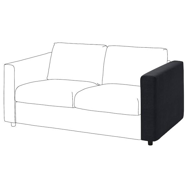 VIMLE Cover for armrest, Saxemara black-blue