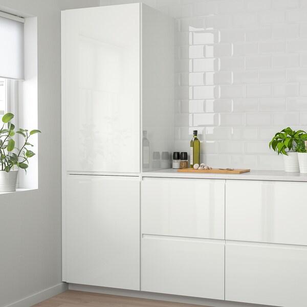 VOXTORP Door, high-gloss white, 60x40 cm