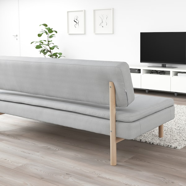 Pleasing 3 Seat Sofa Bed Ypperlig Orrsta Light Grey Gmtry Best Dining Table And Chair Ideas Images Gmtryco